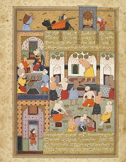 Digital preservation of illustrated Persian manuscripts