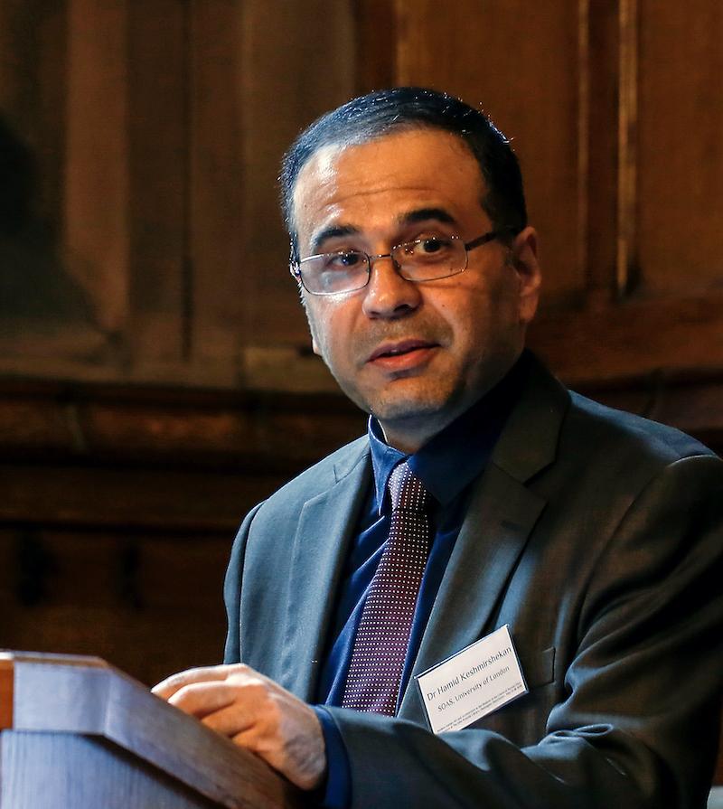 Dr Hamid Keshmirshekan